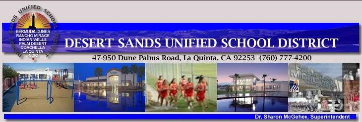 Desert Sands Seeks Input On Superintendent Gcv Business Journal
