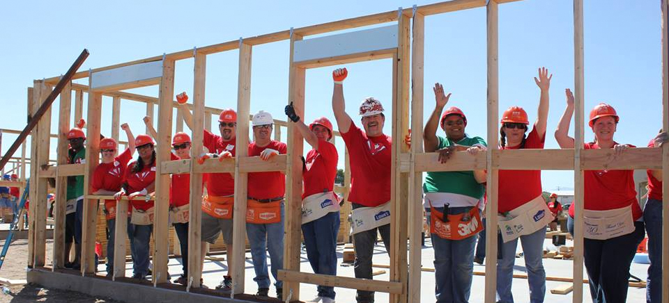 Charity Work Building Homes